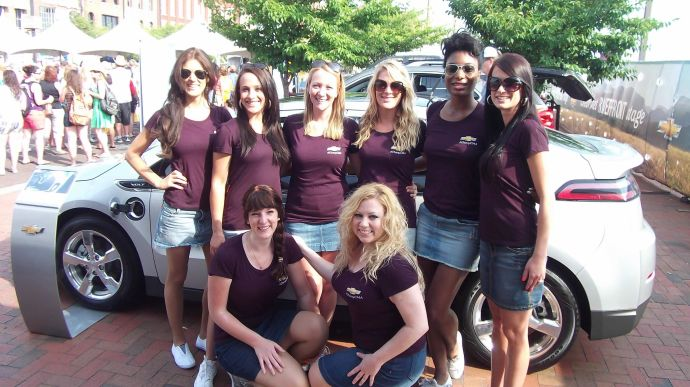 CMA fest Chevy brand ambassadors, Nashville TN