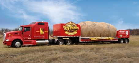 Idaho potato commission big potato truck 454